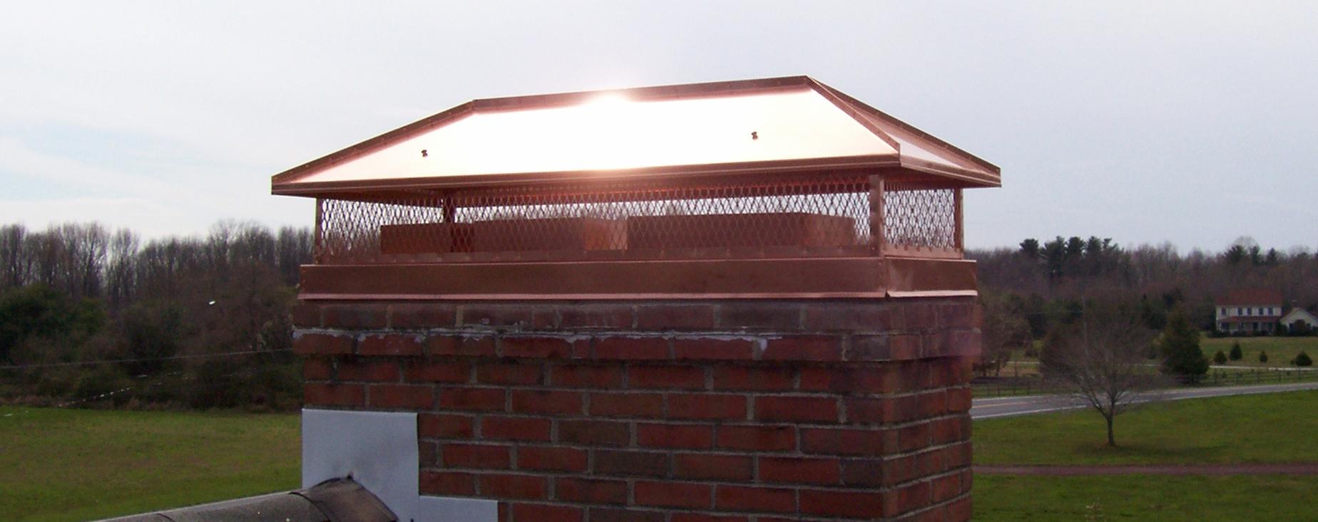 Custom Copper Chimney Caps Chimcare Metal Decorative