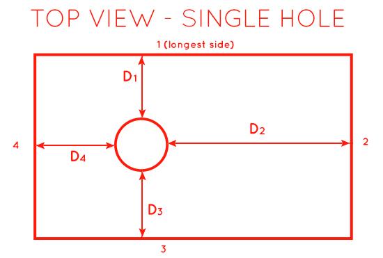single hole [1]
