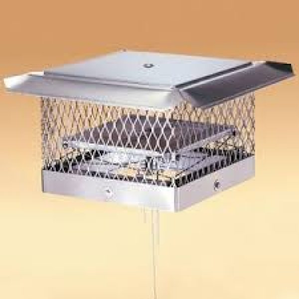 18 x 18 Fireplace Damper