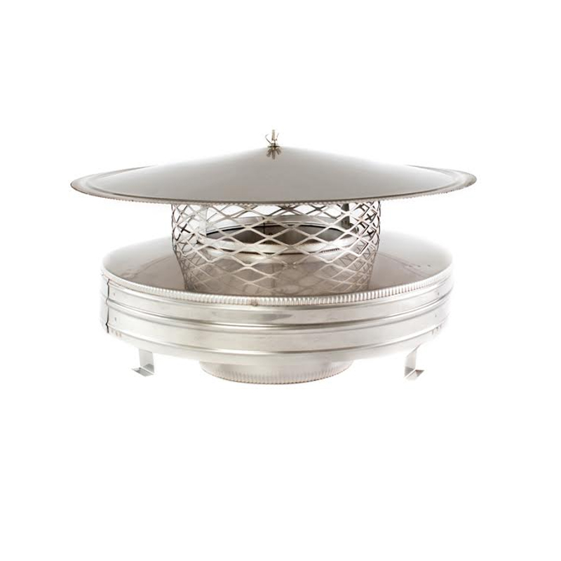 8in Round Air Cooled Chimney Cap