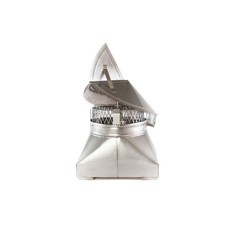Wind directional stainless steel chimney cap